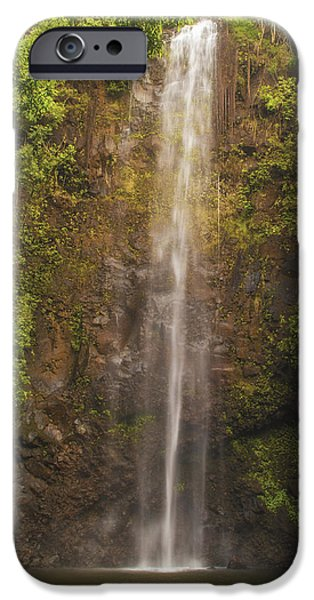 Wildlife Photographer iPhone Cases - Secret Falls iPhone Case by Brian Harig