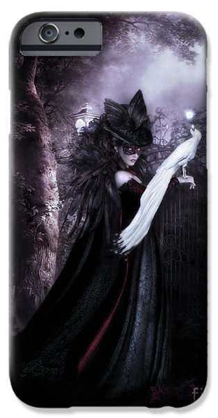 Gothic iPhone Cases - Secret Garden iPhone Case by Shanina Conway
