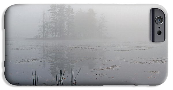 Central Massachusetts iPhone Cases - Secret Silence iPhone Case by Juergen Roth