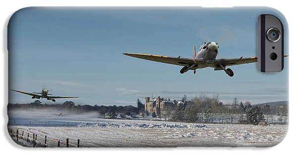 Snow Scene iPhone Cases - Section Scramble iPhone Case by Pat Speirs