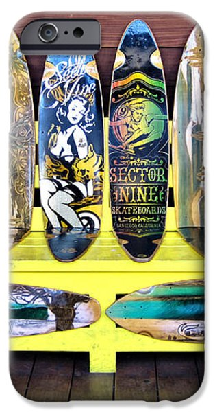 Sector Nine Skateboards iPhone Case by Cheryl Young