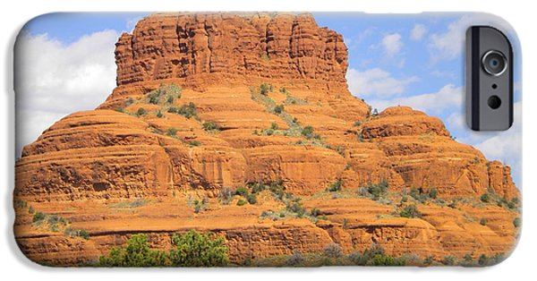Red Rock iPhone Cases - Sedona 018 iPhone Case by Ron Schreiner