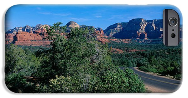 Red Rock iPhone Cases - Sedona, Arizona, Usa iPhone Case by Panoramic Images