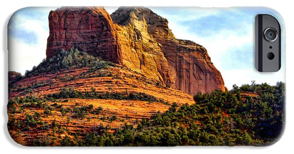 Oak Creek iPhone Cases - Sedona Arizona V iPhone Case by Jon Berghoff