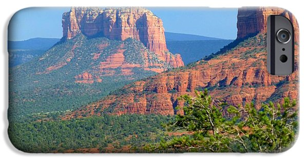Sedona iPhone Cases - Sedona AZ Landscape iPhone Case by Toby McGuire