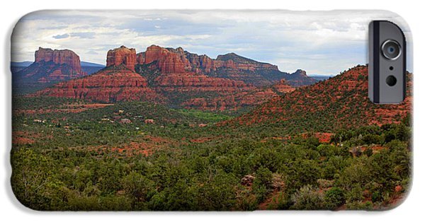 Sedona iPhone Cases - Sedona iPhone Case by Carol Groenen