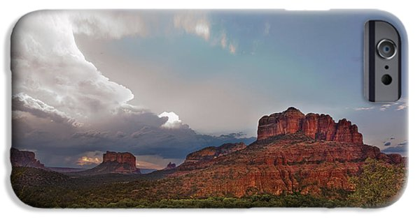 Sedona iPhone Cases - Sedona Drama iPhone Case by Dave Dilli