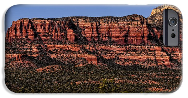 Beauty Mark iPhone Cases - Sedona Fortress iPhone Case by Mark Myhaver