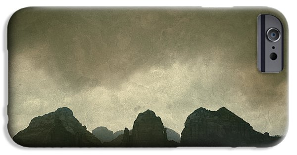 Sedona iPhone Cases - Sedona Landscape No. 6 iPhone Case by David Gordon
