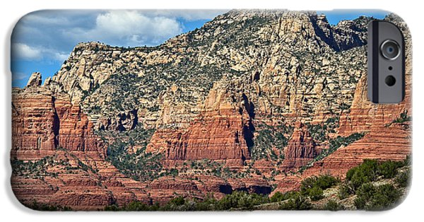 Oak Creek iPhone Cases - Sedona Layers and Rainbow Land iPhone Case by Lee Craig