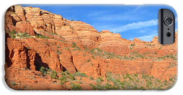 West Fork iPhone Cases - Sedona Panorama iPhone Case by Tim Coleman