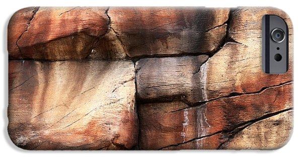 Sedona iPhone Cases - Sedona Red Rocks I iPhone Case by John Rizzuto