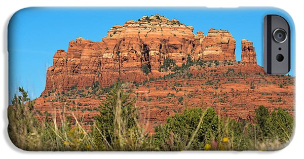 Cathedral Rock iPhone Cases - Sedona Splendor iPhone Case by Joy McAdams