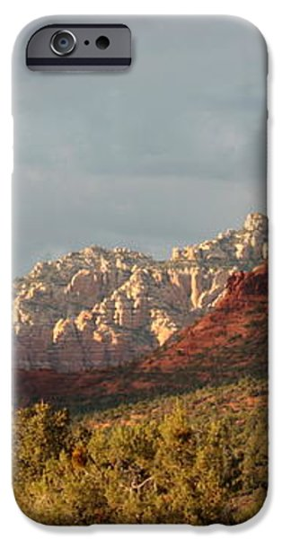 Sedona Sunshine Panorama iPhone Case by Carol Groenen