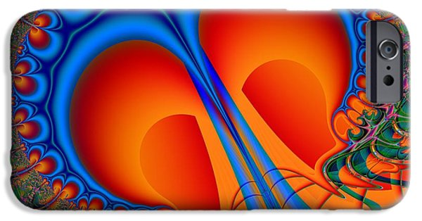 Mental Process iPhone Cases - Seeing Through  iPhone Case by Solomon Barroa