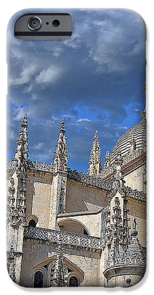 Segovia Gothic Cathedral iPhone Case by Ivy Ho