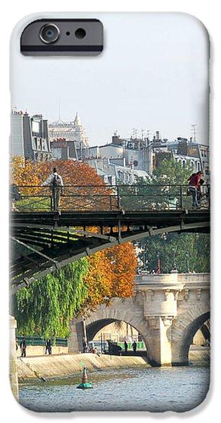 Seine bridges in Paris iPhone Case by Elena Elisseeva