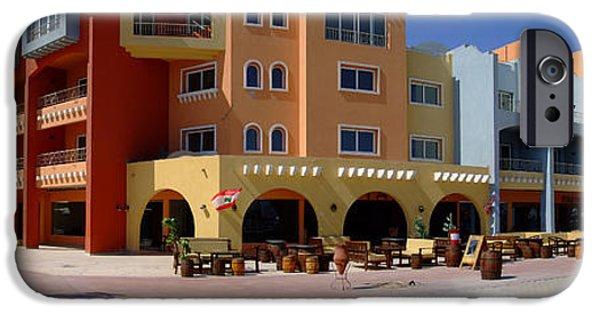 Balcony iPhone Cases - Sekalla Street Panorama iPhone Case by Antony McAulay