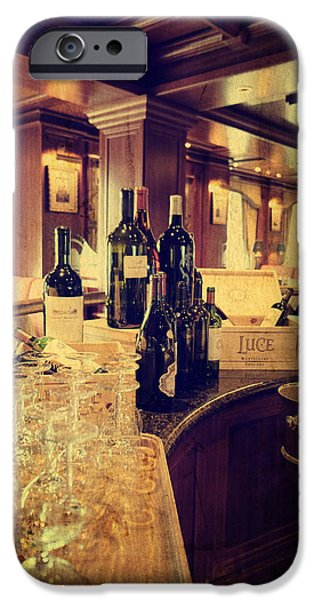 Wine Bottles iPhone Cases - Selections iPhone Case by Lucinda Walter
