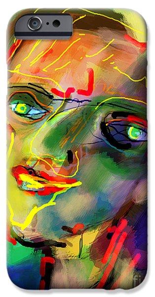 self development 5 iPhone Case by David Baruch Wolk