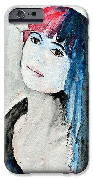 Self Portrait  iPhone Case by Ismeta Gruenwald