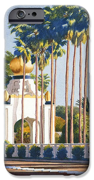 Self Realization Fellowship Encinitas iPhone Case by Mary Helmreich