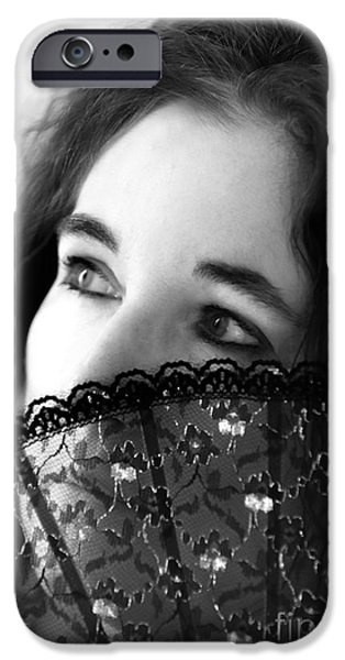 Self Portrait Photographs iPhone Cases - Selfie iPhone Case by Amanda And Christopher Elwell