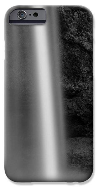 Water Flowing iPhone Cases - Seljalandsfoss 2 iPhone Case by Dave Bowman
