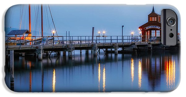 Upstate New York iPhone Cases - Seneca Lake iPhone Case by Bill  Wakeley