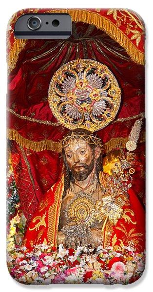 Senhor Santo Cristo dos Milagres iPhone Case by Gaspar Avila
