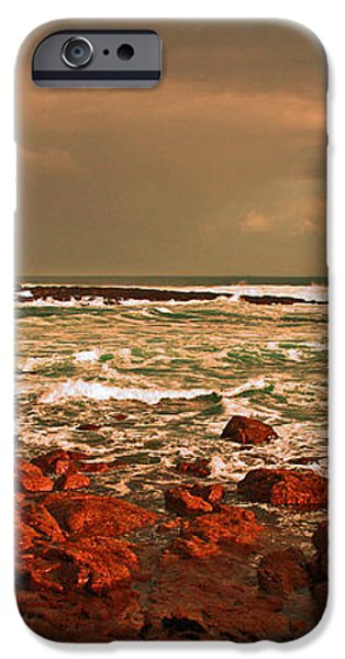 Sennen storm iPhone Case by Linsey Williams