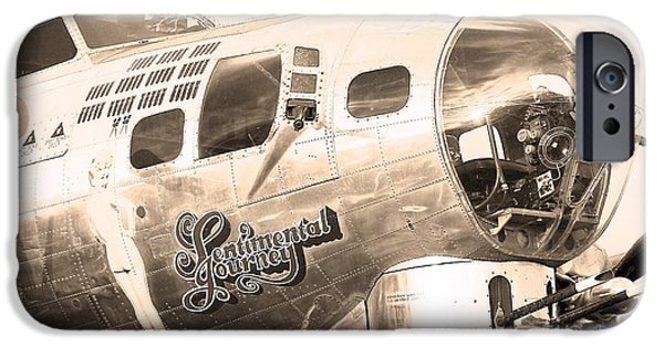 War iPhone Cases - Sentimental Journey iPhone Case by Steven Reed