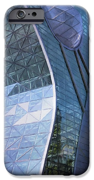 Model iPhone Cases - Seoul City Hall iPhone Case by Joan Carroll