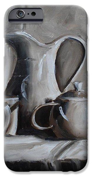 Sepia Still Life iPhone Case by Donna Tuten
