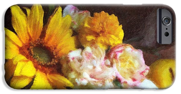 Interior Still Life iPhone Cases - September Still Life iPhone Case by Lianne Schneider