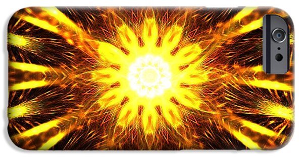 Seraphim Angel iPhone Cases - Seraphim iPhone Case by Kim Sy Ok