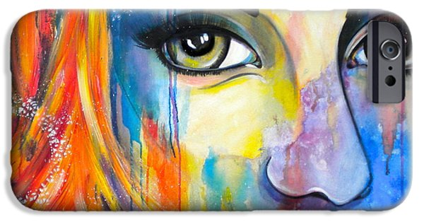 Debi Pople iPhone Cases - Serendipity iPhone Case by Debi Starr