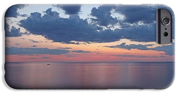 Harbor Sesuit Harbor iPhone Cases - Serene Cape Cod Bay iPhone Case by Juergen Roth