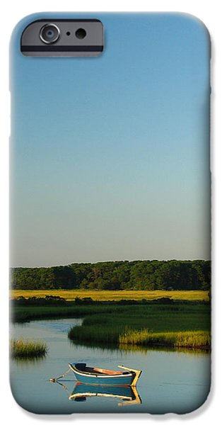 Chatham iPhone Cases - Serene Cape Cod iPhone Case by Juergen Roth