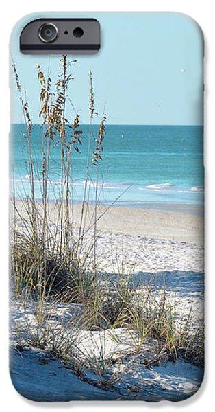 Serene Florida Beach Scene iPhone Case by Rebecca Brittain