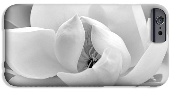 Summer Weddings iPhone Cases - Serene Magnolia iPhone Case by Sabrina L Ryan