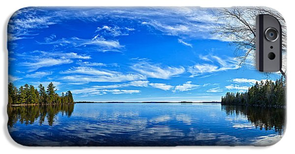 Downeast iPhone Cases - Serene Reflections iPhone Case by Bill Caldwell -        ABeautifulSky Photography