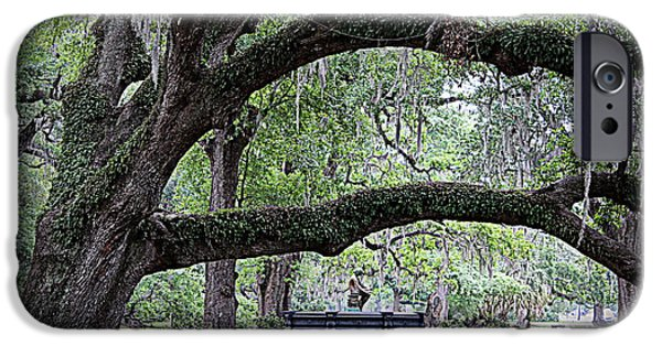 Mighty Oak iPhone Cases - Serenity iPhone Case by Beth Vincent