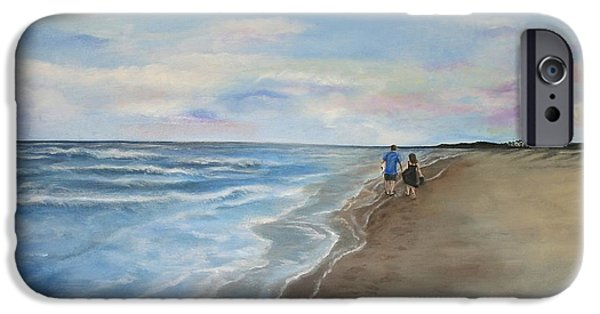 Recently Sold -  - Couple iPhone Cases - Serenity iPhone Case by Christine Cullen