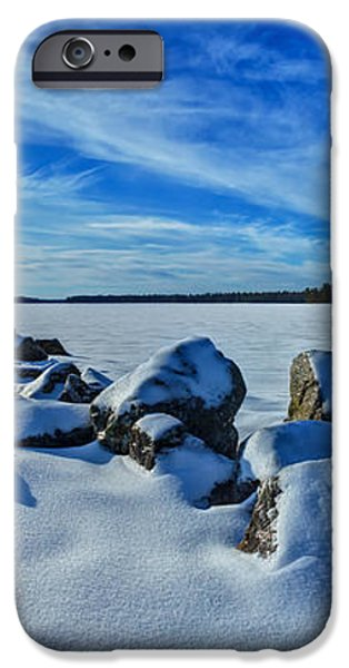 Serenity in Snow iPhone Case by Bill Caldwell -        ABeautifulSky Photography