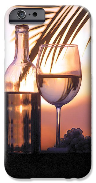 Red Wine iPhone Cases - Serenity iPhone Case by Jon Neidert