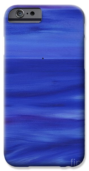 Abstract Seascape iPhone Cases - Serenity iPhone Case by Kenneth Clarke