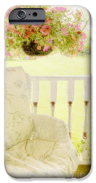 Serenity iPhone Case by Margie Hurwich