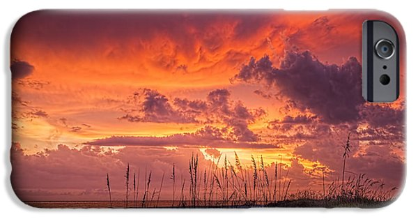 California Beach iPhone Cases - Serenity iPhone Case by Marvin Spates