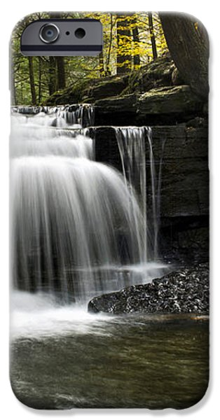 Serenity Waterfalls Landscape iPhone Case by Christina Rollo